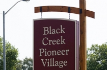 Black Creek Entry Sign