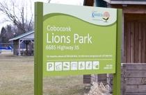 Park ID Sign 48x36