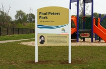 Park Name Sign