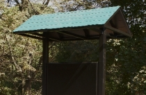 2 Side Aluminum Roof Kiosk
