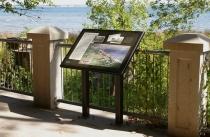 SunGlaze Interpretive Pedestal